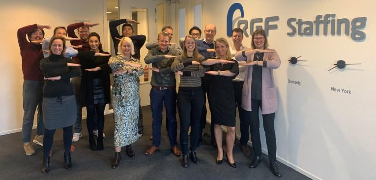 Team RGF Staffing IWD 2020